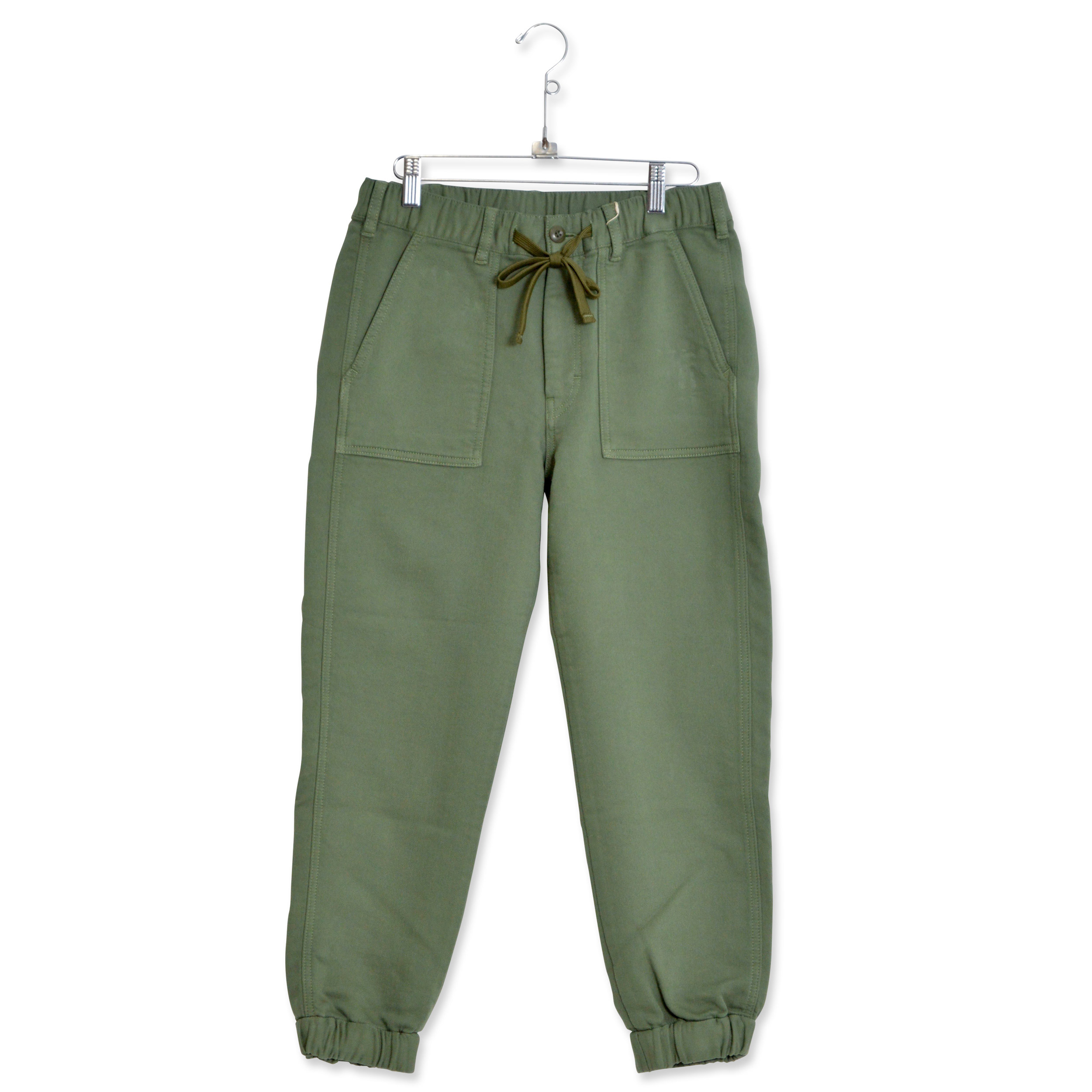 HINSON KNIT CHINO JOG HO (WOMAN)