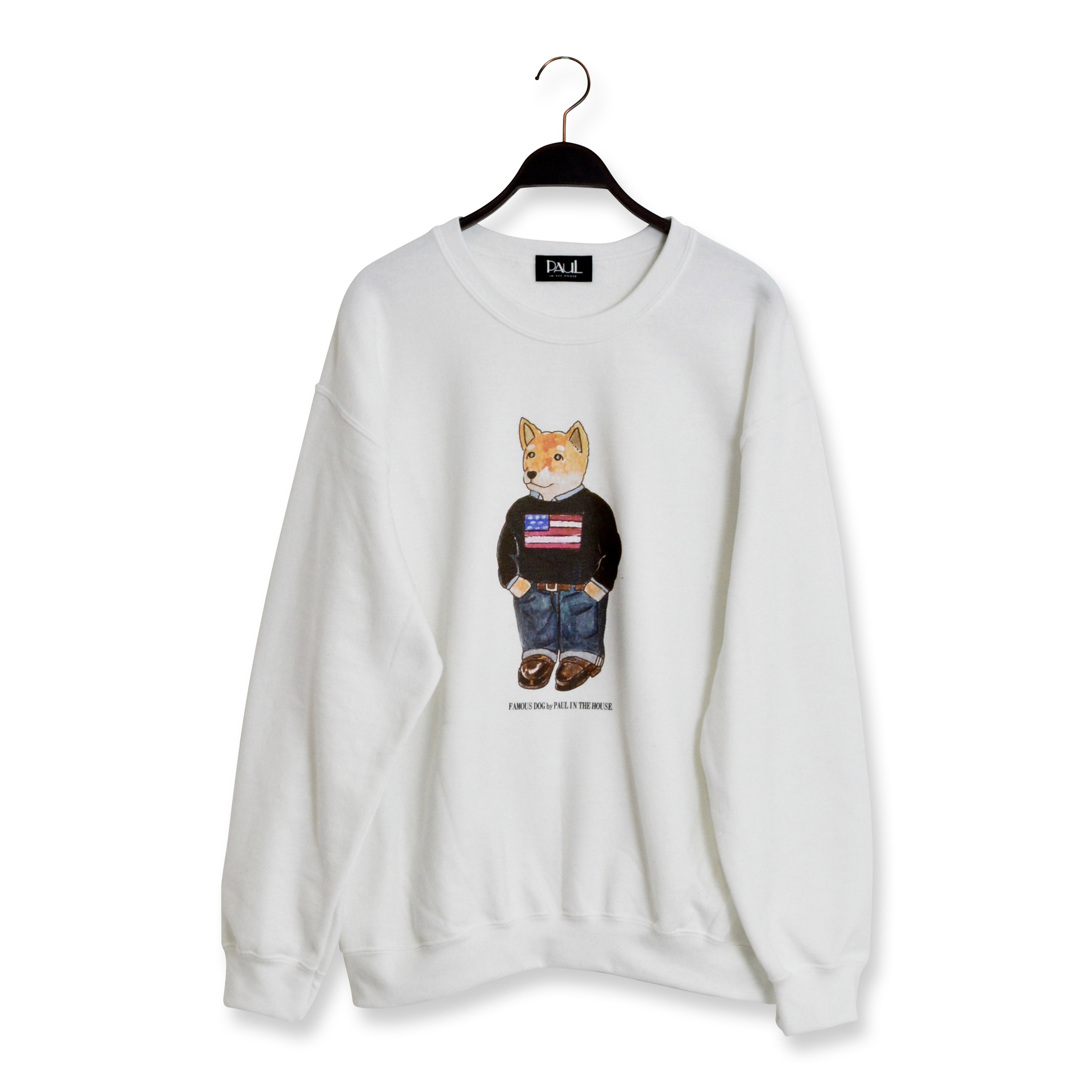 【SONTAKU/ソンタク】PAUL USA CREW SWEAT