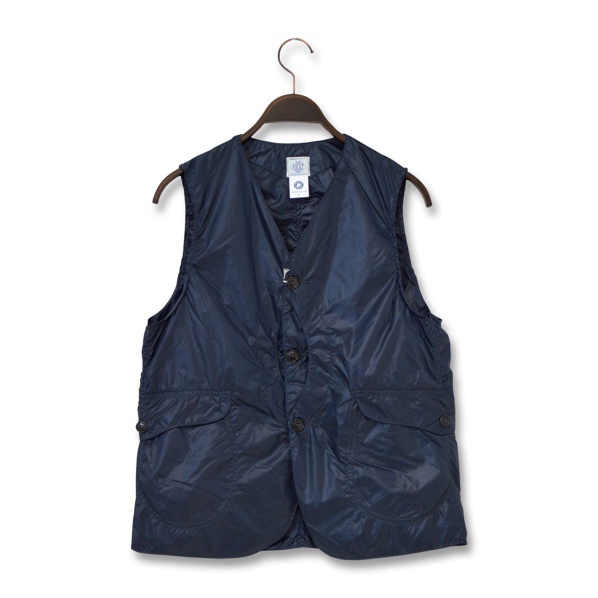 POST OVERALLS(ポストオーバーオールズ)/1512 ROYAL TRAVELER/NYLON TAFFETA