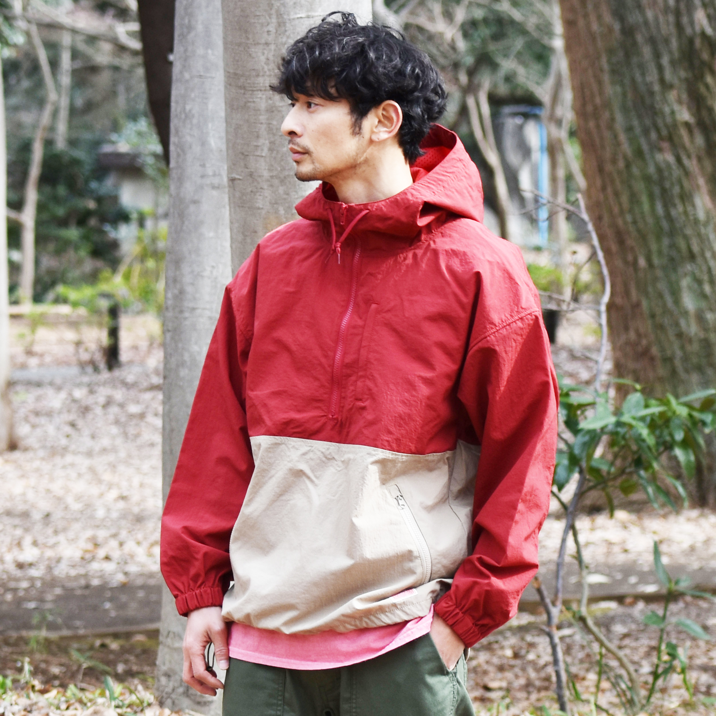 HINSON TRAIL PULLOVER WATER REPELLENT
