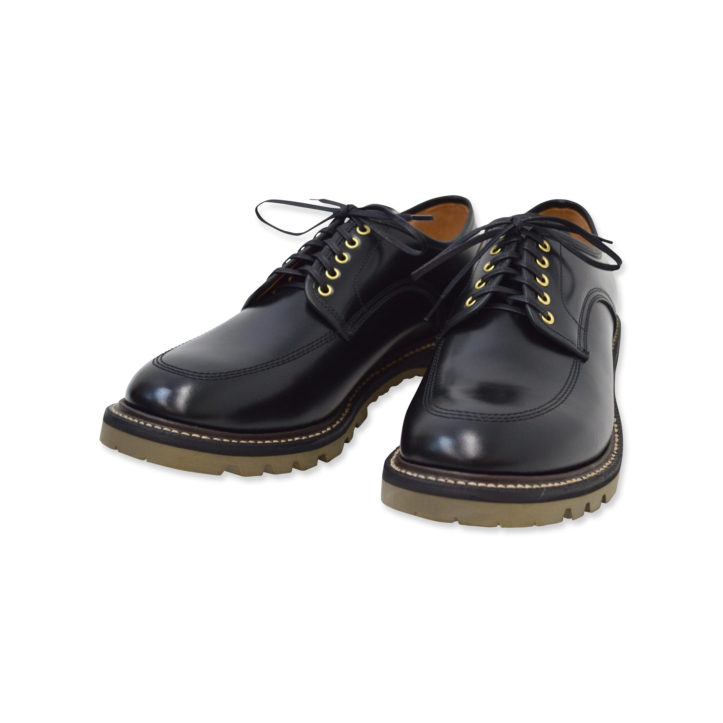 5 eye work moc toe blucher oxford