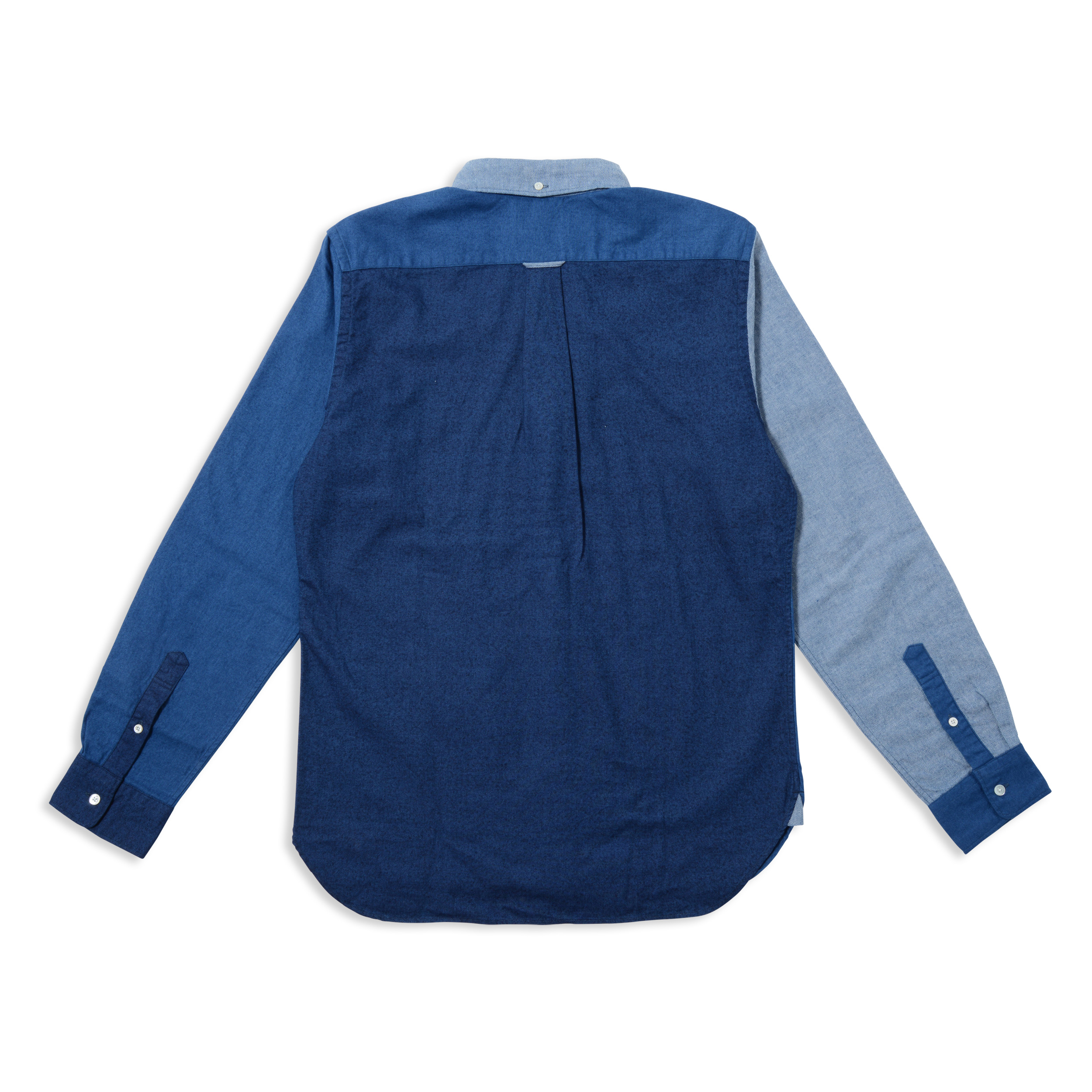INDIGO CRAZY BD SHIRT(1703)