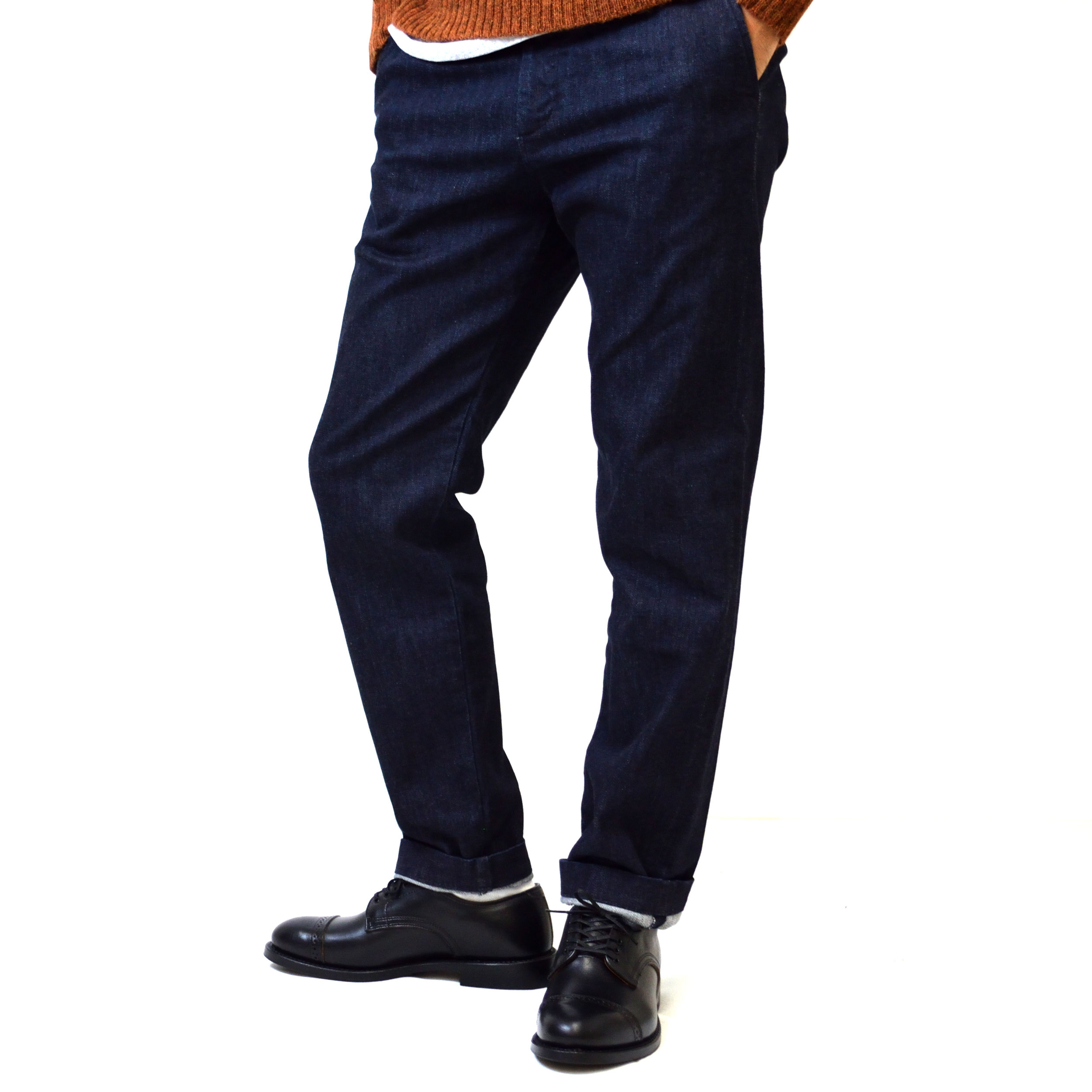 DENIM TROUSERS(1703)