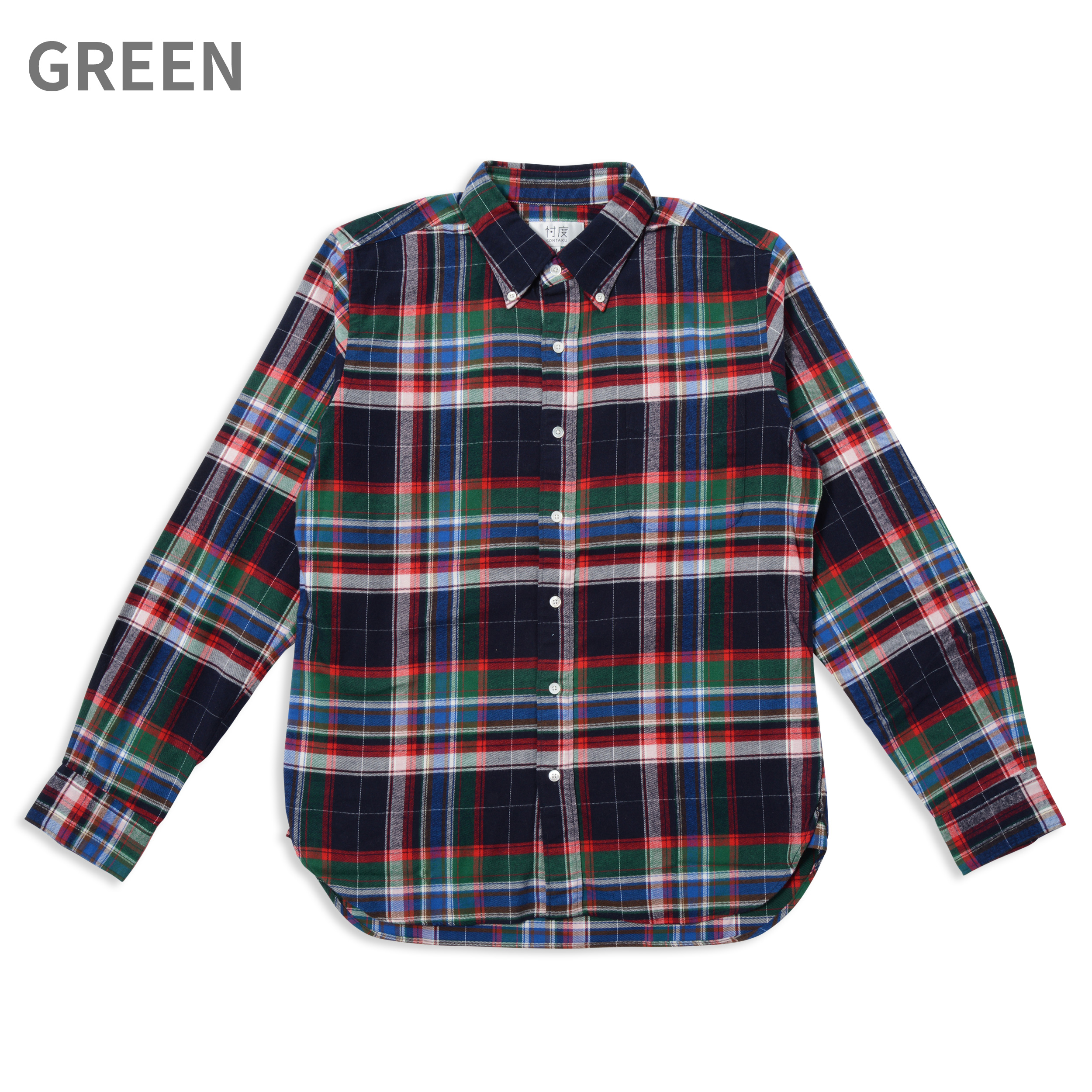 【35%OFF商品】FREE FLANNEL CHECK BD SHIRT(1703FN)