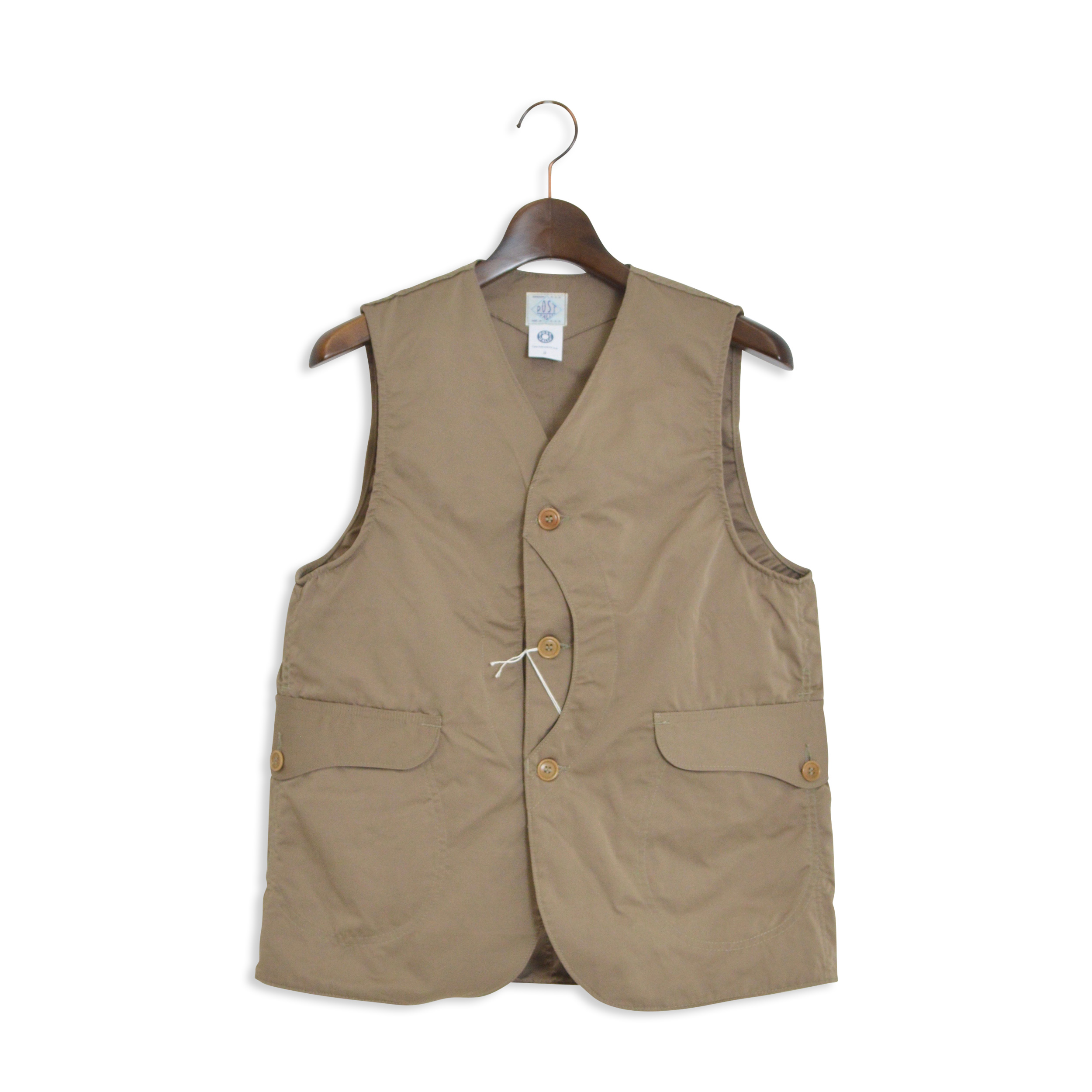 【POST O'ALLS】POST OVERALLS(ポストオーバーオールズ)/1512 ROYAL TRAVELER/POLYESTER GROSGRAIN (1703)