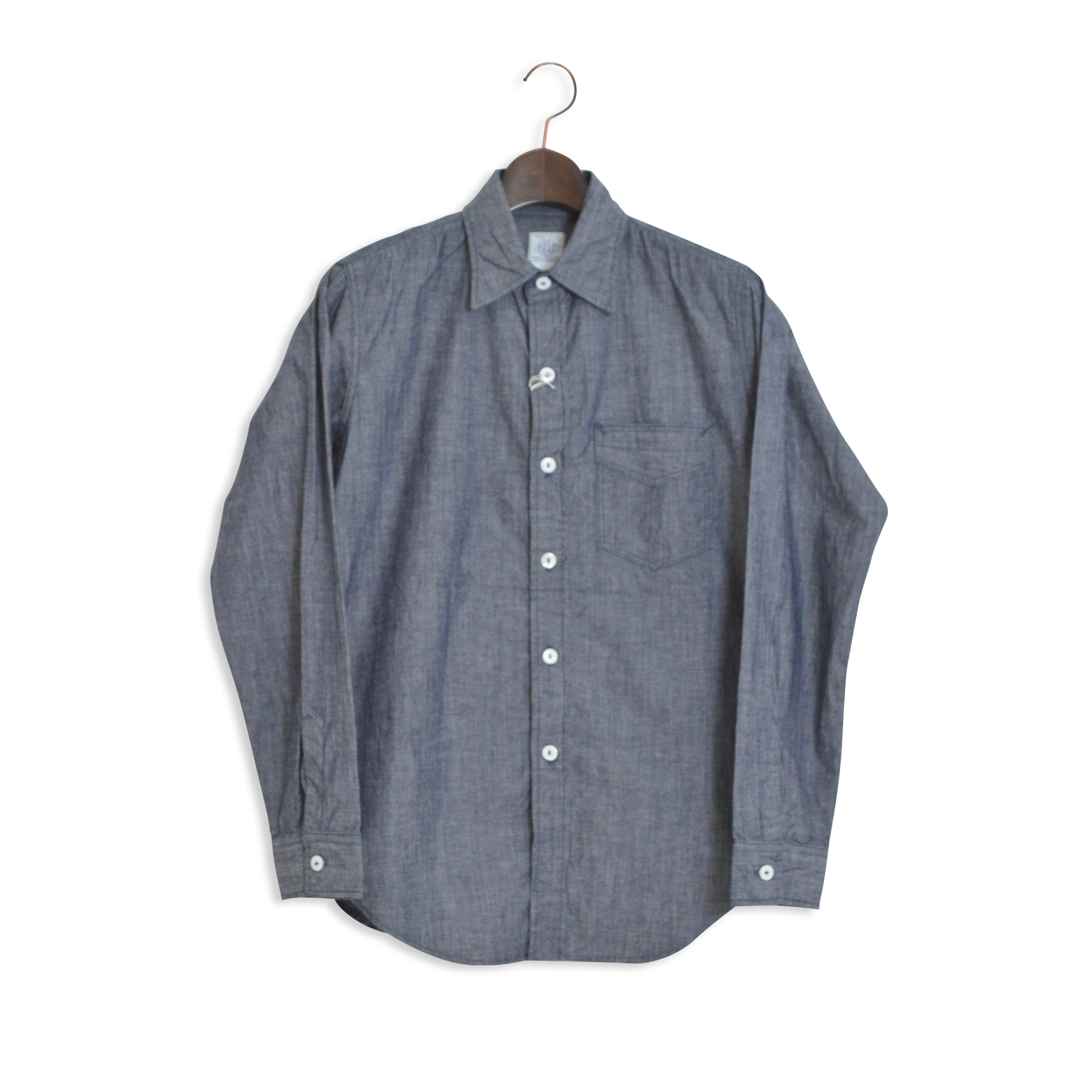 【POST O'ALLS】POST OVERALLS(ポストオーバーオールズ)/2213 THE POST4/CONE CHAMBRAY (1703)