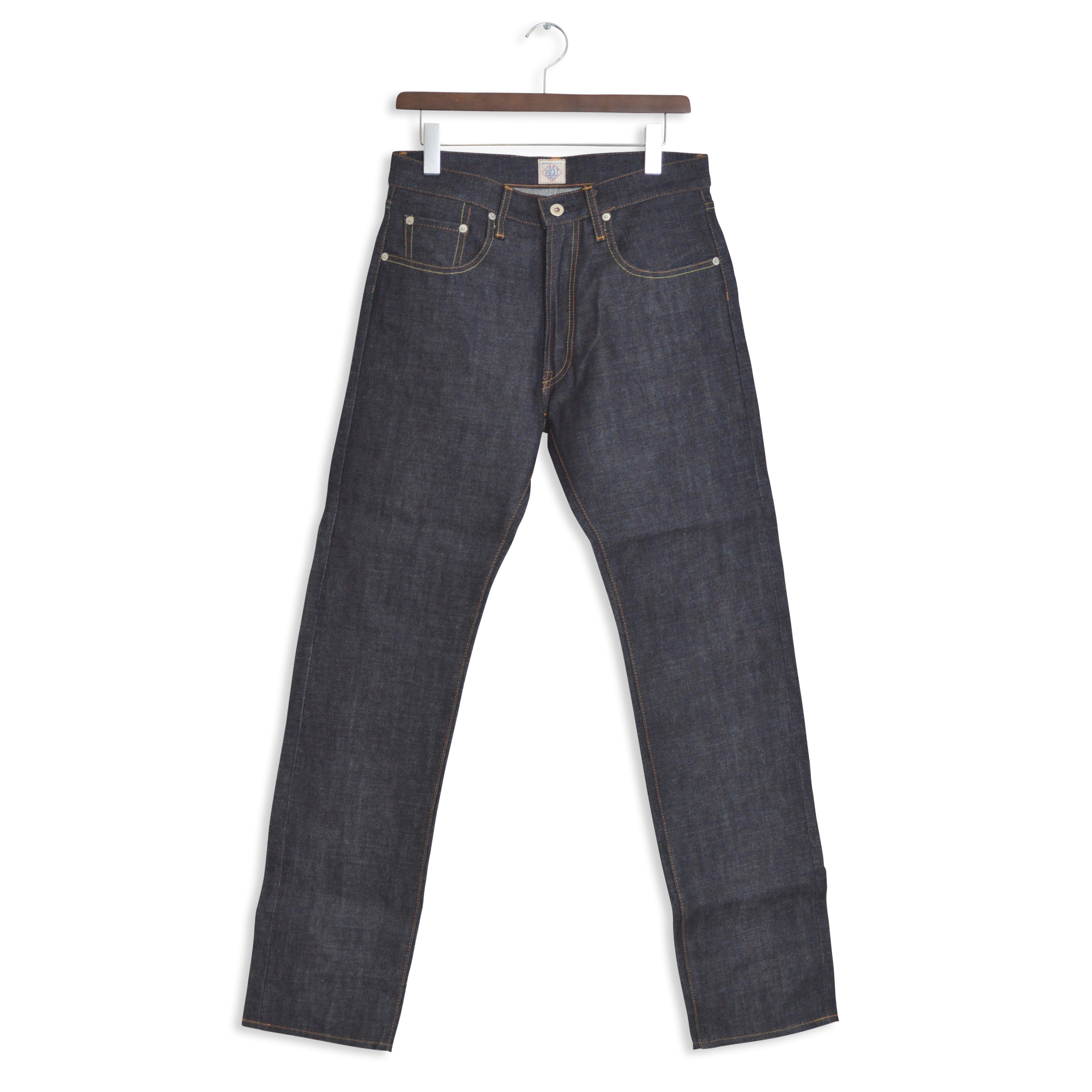 【35%OFF商品】POST OVERALLS(ポストオーバーオールズ)/1398 #4 FIVE POCKET/JAPANESE 14OZ DENIM W/JEAN STICH(1703)