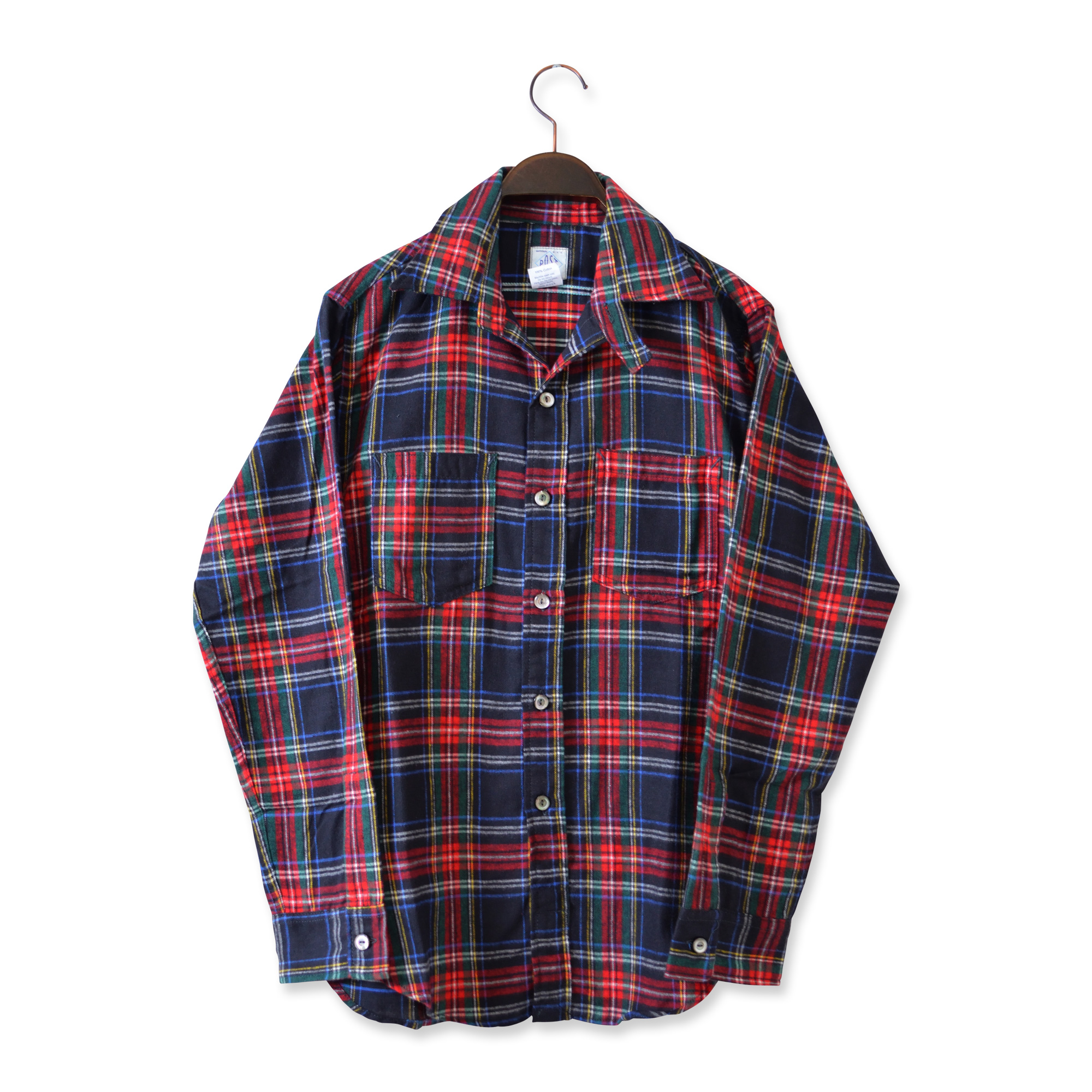 POST OVERALLS(ポストオーバーオールズ)/#2216-FP3 THE POST3-R-W COTTON PLAID FLANNEL