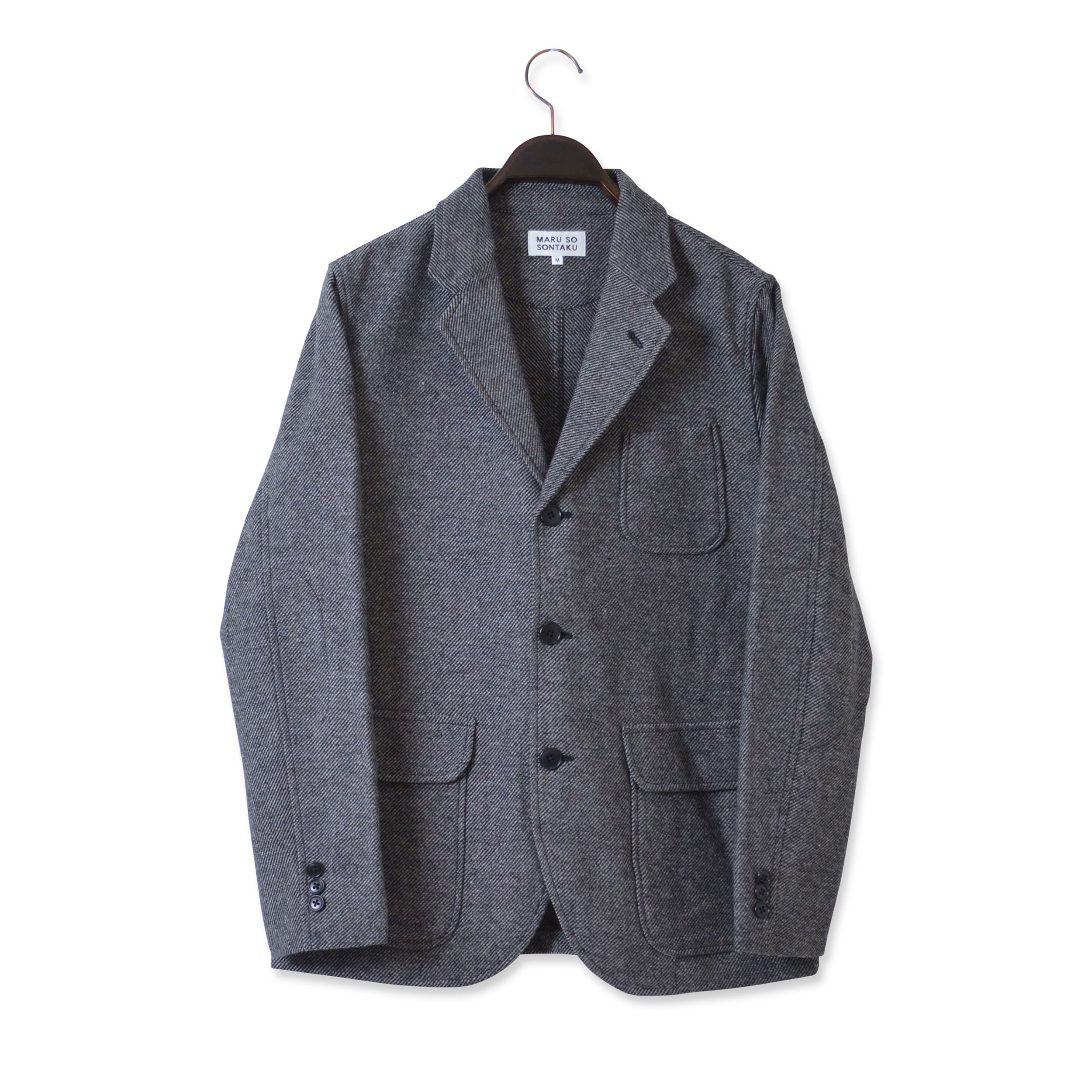 ULTRA LIGHT TWEED JACKET (SONTAKU)