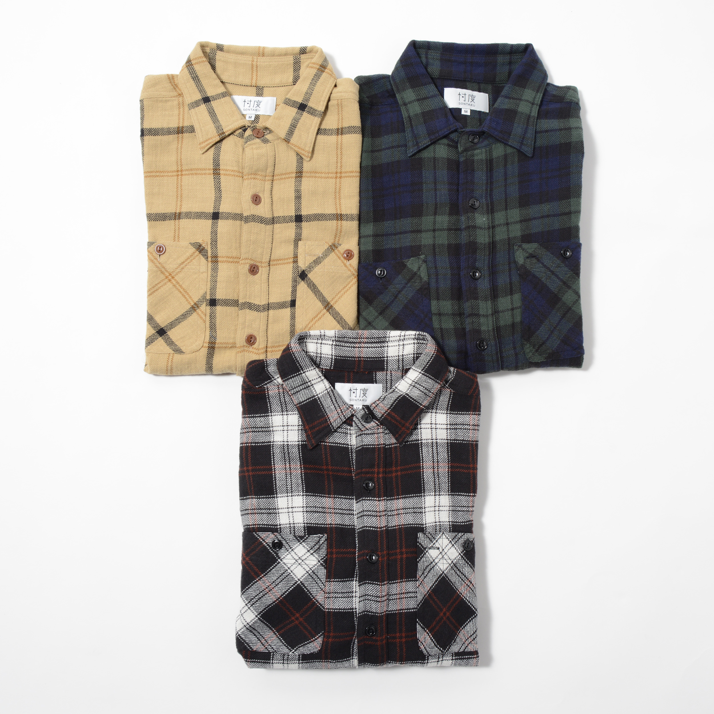 【40%OFF商品】HEAVY FLANNEL WORK SHIRT(1703FN)