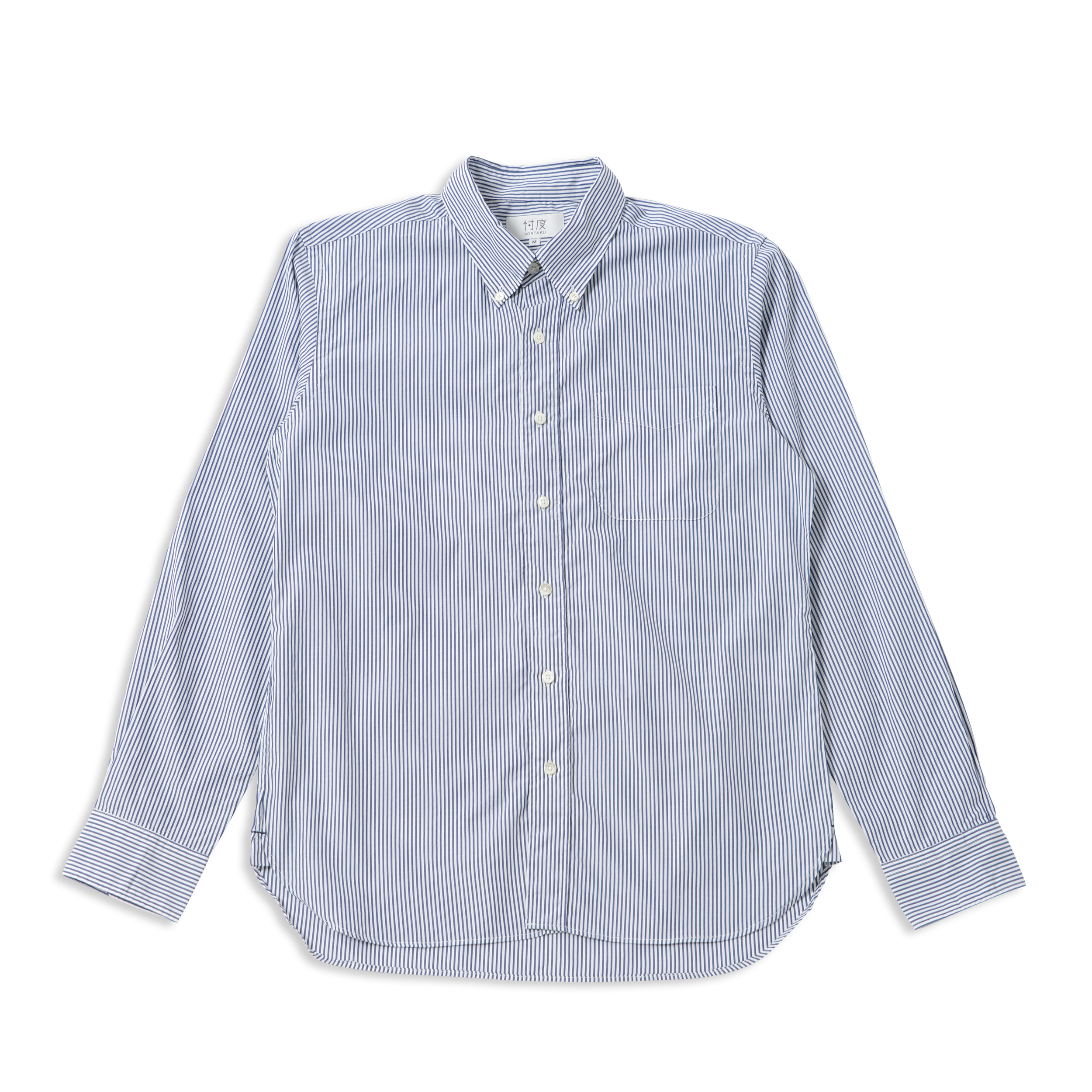 Broad cloth b.d shirt(定番)*