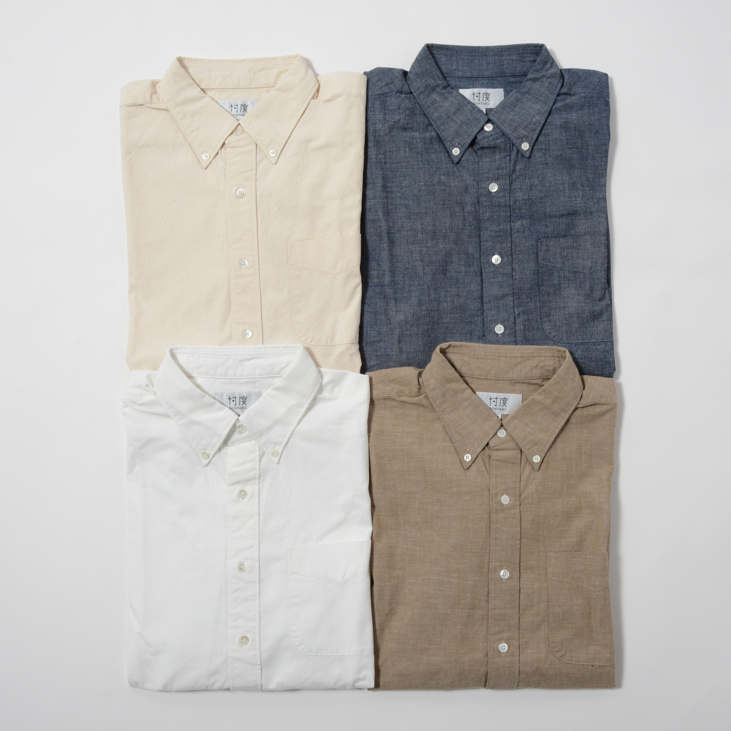 【40%OFF商品】SELVAGE CHAMBRAY BD SHIRT(1703)